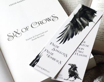Image result for six of crows bookmark
