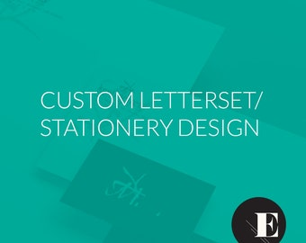 Custom Letterset/Stationery Design