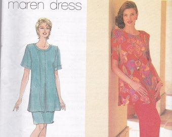 Simplicity 7250 Vintage Pattern Womens Tunic Top, Skirt and Pants Size 14,16,18 UNCUT