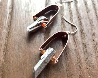 Pyrite Stir-It-Up Earrings