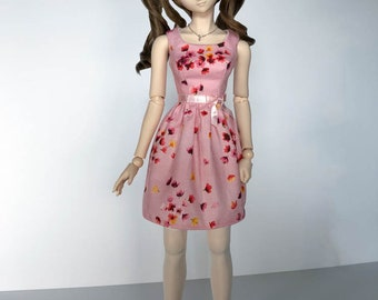 Dollfie Dream Blossom Sun Dress - Pink
