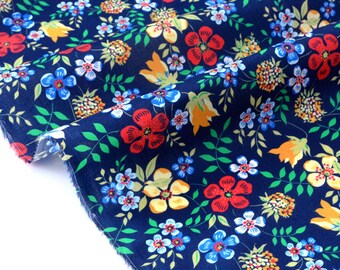 Fabric Liberty of London 77x132cm Edenham Navy