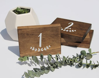 Wedding Wood Table Numbers | Wedding Table Numbers | Wooden Table Numers | Custom Wood Table Numbers | Wood Sign | Wedding Centerpiece