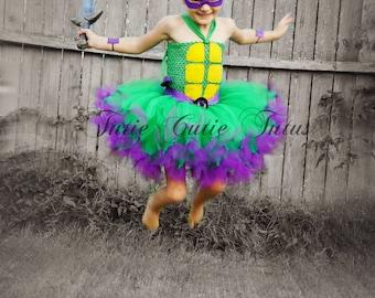 Teenage Mutant Ninja tortue Tutu Dress Costume NB-8