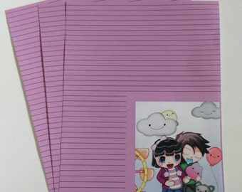Cotton Candy Stationary