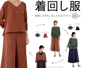 Let's Make them and Enjoy Wering Everyday Clothes - Japanese Craft Pattern Book