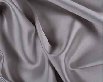 Beige Silk/Wool Gab, Fabric By The Yard