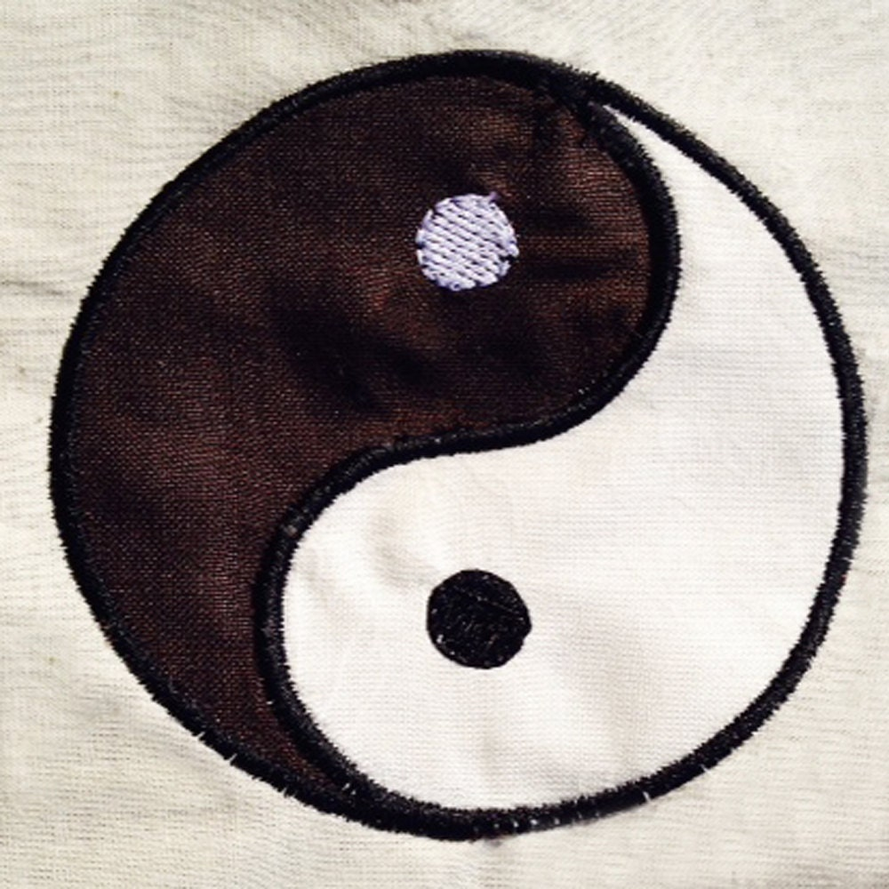 Simple Modern Yin Yang Chinese Symbol For Balance