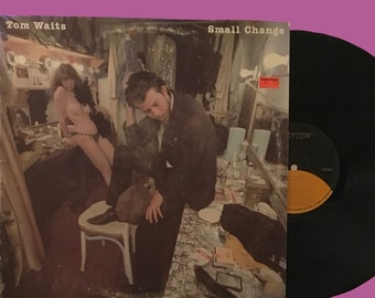 Tom Waits - Small Change (1976, Asylum Records) Good condition.