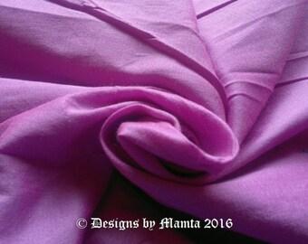 Fuchsia Pink Dupioni Art Silk Fabric, Bridesmaid Fabric, Indian Silk Fabric, Solid Pink Fabric, Bridesmaid Fabric, Unique Designer Fabrics