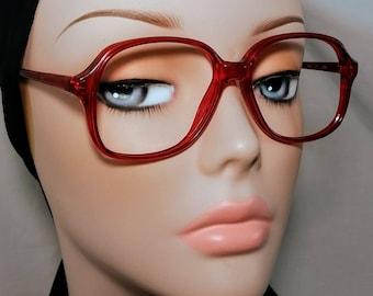 Vintage Eyeglass Frame, Wilshire Designs, Red