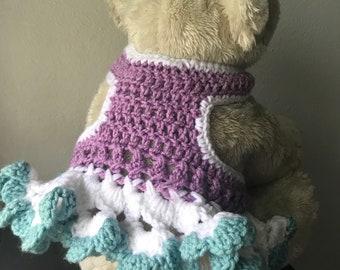 Crochet Dog TuTu