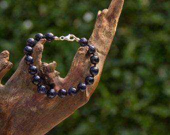 Striking Blue Aventurine Bracelet