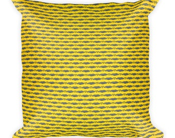 Namakula African inspired wax printSquare Pillow