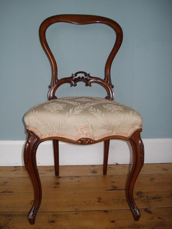 - Antique Balloon Back Chair