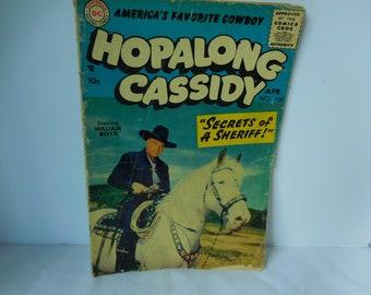 Hopalong Cassidy Comic Book 1955 Superman National Comic