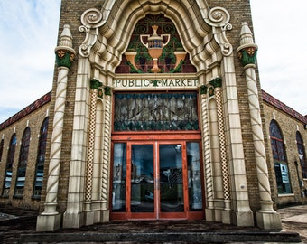 Fort Worth, Texas, Building, Architecture, National Register of Historic Places - Public Market Front Door