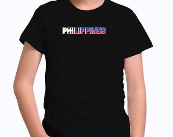 Philippines country flag Children T-Shirt