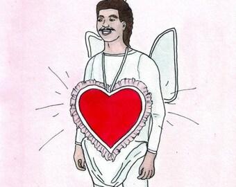 Cupid ink drawing DIGITAL PRINT