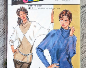 Pouch pattern Burda 3078 - Lady T-shirt