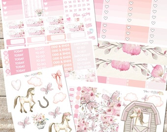 FRILLY PHILLY Planner Stickers Individual Sheets sized for the Erin Condren Life Planner