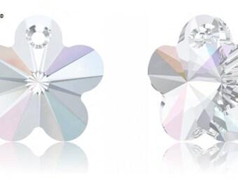 Swarovski 6744 - Flower Crystal Pendant