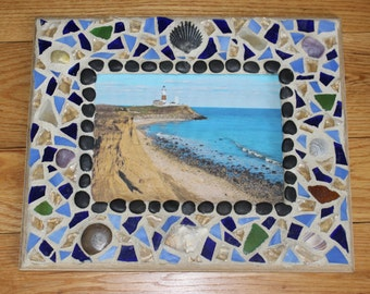 Mosaic Frame (Beach Lovers)