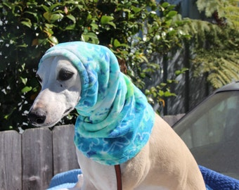 Warm Sighthound  Snood or neck warmer. 10 different prints/2+ solids to choose from .