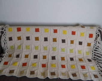 Vintage Fall Colors Throw/Blanket