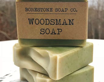 Woodsman Soap (1 bar, BALSAM FIR)