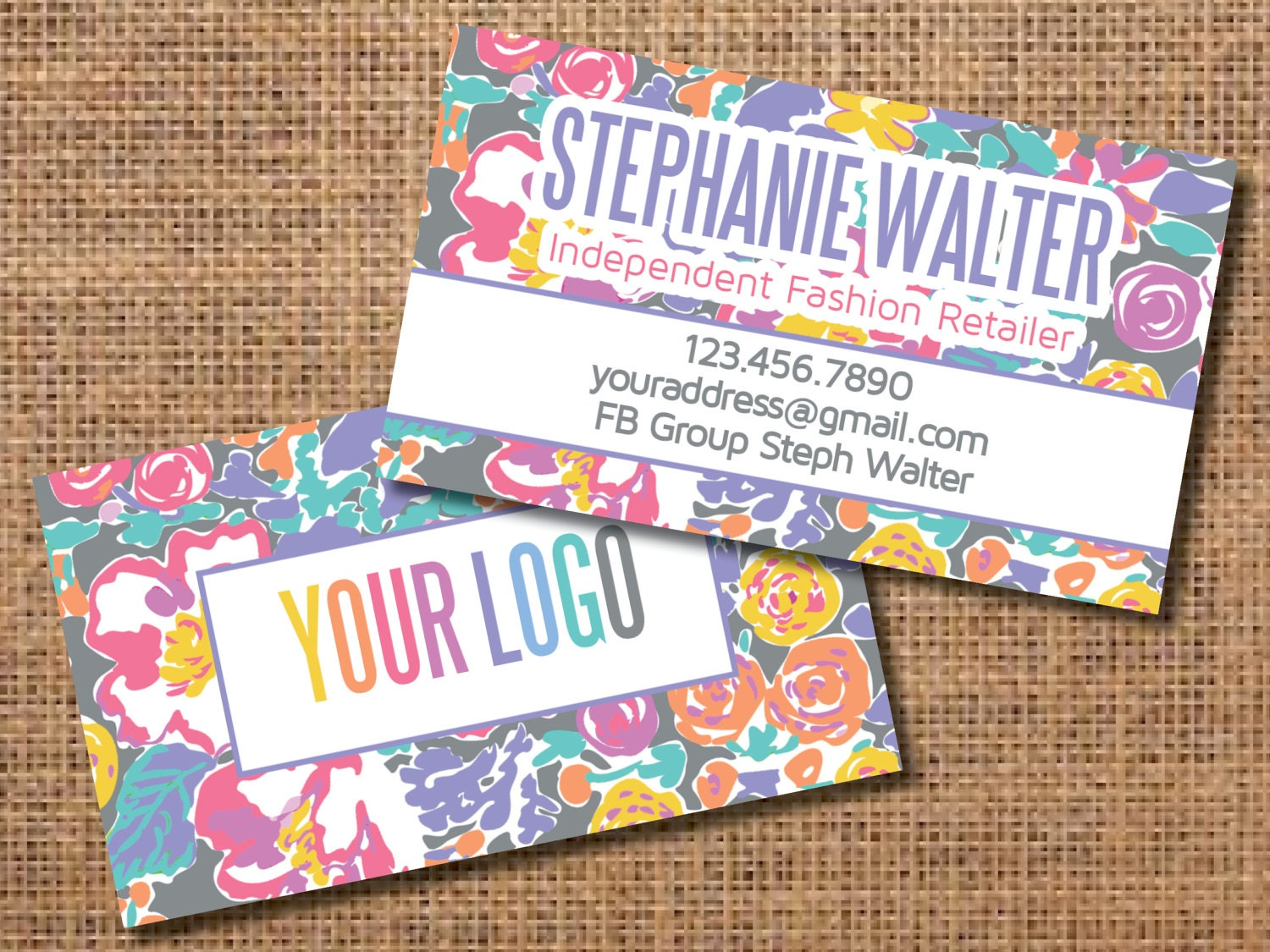 Fashion Business Cards, Fashion Retailer Business Cards, Clothing ...