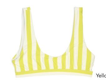 Seamless Sport Bikini Top, Swimwear, Swimsuit, Bathing Suit, Bikini Top, Women's Swimwear
