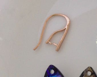 ADD ON *** Rose Gold 18k plated over Sterling Silver option for select earrings.