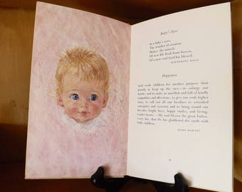 Vintage Life's Greatest Treasure Hallmark Editions Writings About Discovering And Cherishing Children, Prayers, Poems 1968