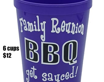 Family Reunion, Family Reunion Party Favors, Family Birthday, Family Reunion Favors, Reunion Party, BBQ Party Supplies, Outdoor Party