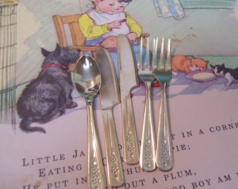 little play toy silverware