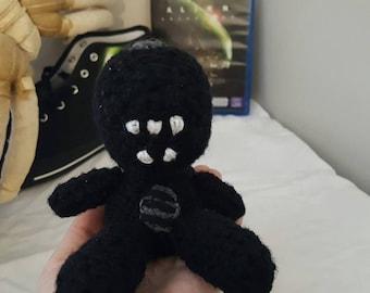 Alien Xenomorph Crochet Amigurumi