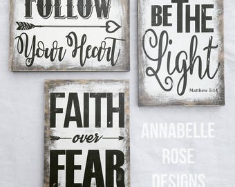 Be The Light Matthew 514 Faith Over Fear
