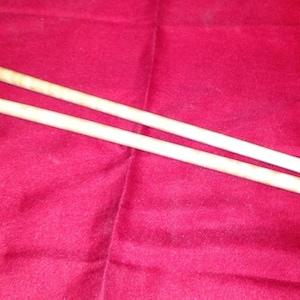 Hand Made Wooden Knitting Needles