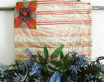 Flag Mini Quilt