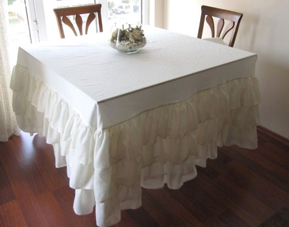 how to make your own tablecloth wedding