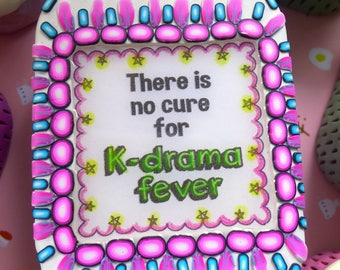 There is no cure for K drama fever. Custom tin