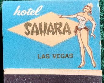 Vintage matchbook Sahara Hotel Las Vegas Nevada Casino