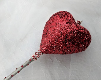 King or Queen of Hearts Wand/Scepter