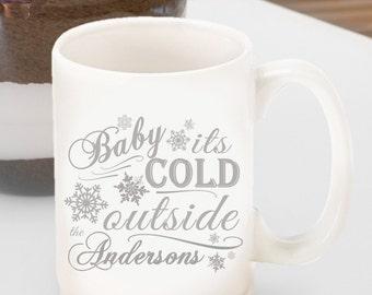 Personalized Christmas Coffee Mug - Christmas Coffee Mug - Christmas Cocoa Mug - Hot Chocolate Mug - GC1333