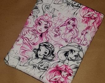 Book Sleeve - Princess Sketch