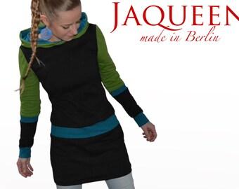 hoodie dress quality handmade in berlin winter