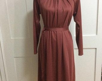 1970's Vintage Dress by Berketex