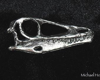 Pewter Dinosaur Pin - Coelophysis