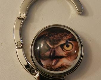 Owl Chic Handbag  Purse Holder V2